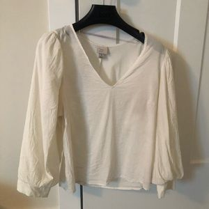 White new day blouse